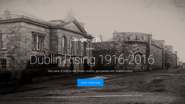 Dublin Rising 1916-2016 Google website