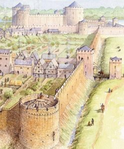 City Walls (illustration by Philip armstrong)